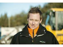 Niklas Carlsson - sektionschef på Ragn-Sells i Östergötland