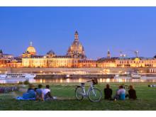 Dresden skyline med Frauenkirche