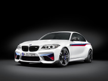 BMW M2 Coupé med BMW Performance dele