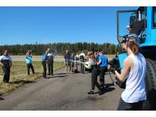 Volvo L60G PCP - världsrekord för konventionell hjullastare med 103 km/tim