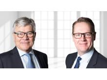 Jørgen H. Mikkelsen, Bestyrelsesformand i Danish Agro, og Henning Haahr, Koncernchef i Danish Agro