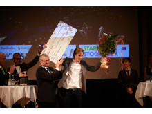Start-Up Stockholms affärsidétävling Nålsögats vinnare Axel Nordenström