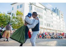 Europas största folkdansfestival i Helsingborg