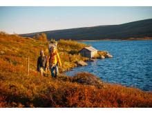 Vandring vid Svansjön