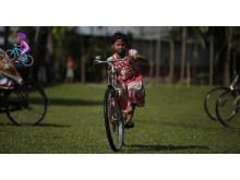 Julklapp - cykellektion