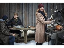 Weber winter grilling