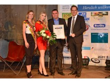 """Der dritte Platz in der Kategorie """"Persönlichkeiten"""" wurde an André Kaldenhoff, Bereichsleiter des Congress Centers Leipzig, vergeben"""