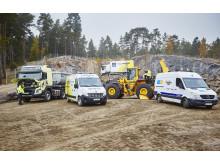 Swecon och Volvo Truck Center service - heltäckande eftermarknad i Förbifart Stockholm