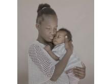 #childmothers: Angelica, 13 år med Lucner, 3 månader från Haiti.