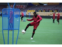 Artificial turf football FC Nordsjælland, Right To Dream Park, Denmark