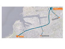 Tunnelsträckning Malmö avloppstunnel