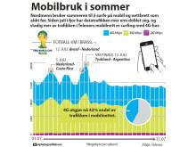 Datatrafikk i juli