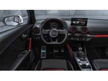 Audi SQ2 (gletscherhvid) cockpit