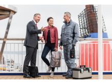 BU: Mit einem neuen Business Traveller Programm bei Stena Line  können Unternehmen mobiles Arbeiten und Einsparung von Reisekosten clever verbinden.