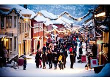 Weihnachtsshopping in Røros