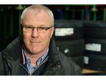Kenneth Saust, formand for Dækimportørforeningen