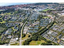 Översiktsbild Nordöstra Helsingborg