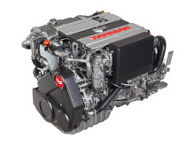 High res image - YANMAR - new 4LV marine diesel engine - left side front