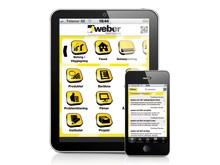 weber.app för iPhone och Android