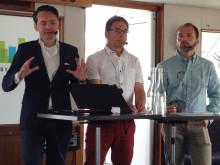 Stefan Engdahl, Lars Tullstedt och Thomas Lundgren
