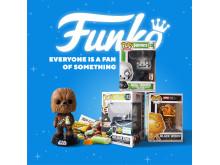 FUNKO popkulturprodukter kommer till åtta utvalda Hemmakväll butiker under vecka 30 2019