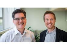 Johannes Krunegård och Andreas Rolfer Wrangö