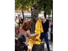 Elin Wägner-skulptur