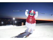 Valle offiofficial mascot the FIS Alpine World Ski Championships in Åre 2019