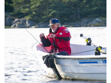 Sportfiskelegendaren Jan Olsson kommer att närvara både vid invigningen och pressvisningen.