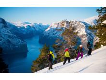 Flåm Guideservice viser deg de hemmelige utsiktspunktene på trugetur