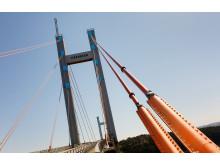 Tjörnbrons kablar ska bytas ut - foto Svante Örnberg