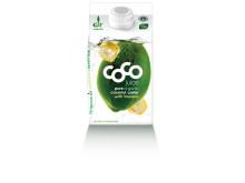 Dr. Martins Coco Juice banan økologisk 500 ml