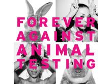 Forever Against Animal Testing_bunnysign