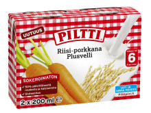 Piltti Riisi-porkkana Plusvelli