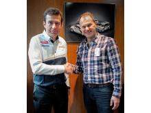 Peugeot i samarbete med Hansen Racing