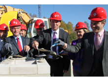 Grundstein für Pelletwerk und BHKW gelegt