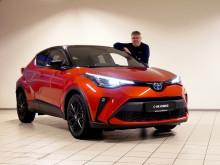 Oppgradert Toyota C-HR er klar for veiene i Namsos