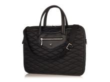 I Knomo´s nya Fitzrovia-kollektion presenteras nu Charlotte, en elegant laptop-väska.