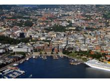 Oslo by air