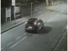 CCTV still of the vehicle police wish to trace