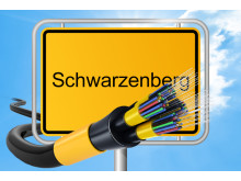 Das Giga-Netz kommt nach Schwarzenberg