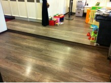Flooring Platform Using Tarkett Laminate Flooring