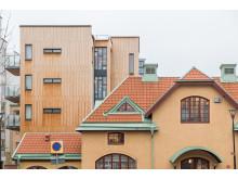 Förtätningsprojektet gamla brandstationen, kv Brandstationen 6.
