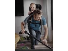 Swedish Dads - utställning, fotograf Johan Bävman