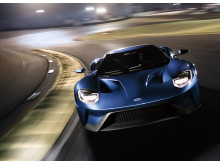 Den nye Ford GT på banen