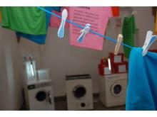 Tvätt på tork i Skopje