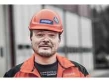 Petri Virtanen, affärsområdeschef industrisanering Delete