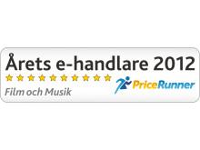 Årets e-handlare 2012 - Film&musik