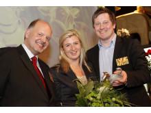 Max Hamburgerrestauranger vinnare av Arla Guldko® 2011 Bästa Miljöarbete