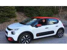 Sarah Sjöström och nya Citroën C3